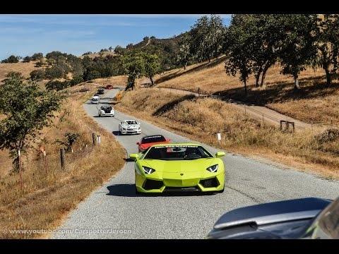 FUEL RUN 2017 | Monterey to Laguna Seca | Monterey Carweek 2017 [Mr Philipp]