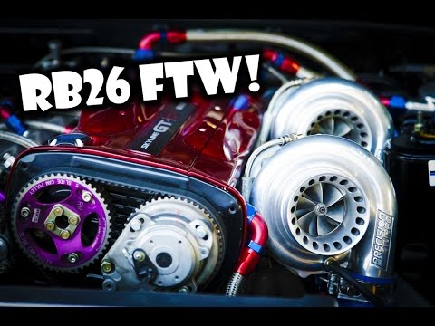 Ultimate RB26 TURBO Sound Compilation