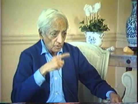 "Jiddu Krishnamurti ""La Nature de la Pensée"""