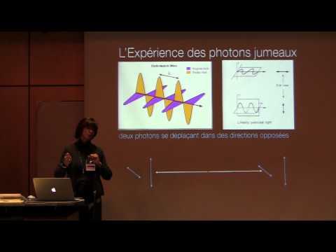 """""""Le Fondement Quantique de la Vie""""; Conférence SPHQ avec Judyann McNamara"""