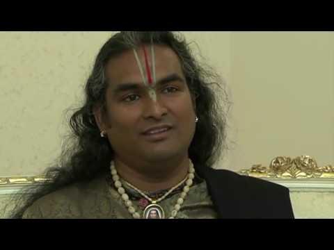 OM CHANTING Interview avec Paramahamsa Vishwananda en Slovenie