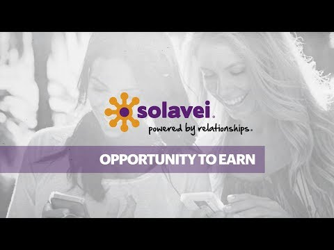 Solavei Opportunity to Earn