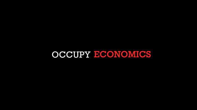 Occupy Economics