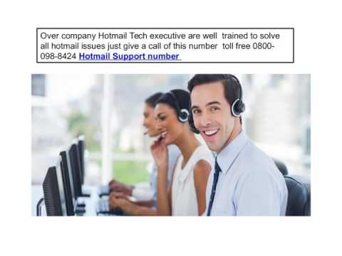 Hotmail Account Configuration Customer Support Helpline