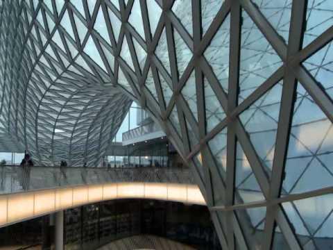 Nákupní centrum MyZeil ve Frankfurtu
