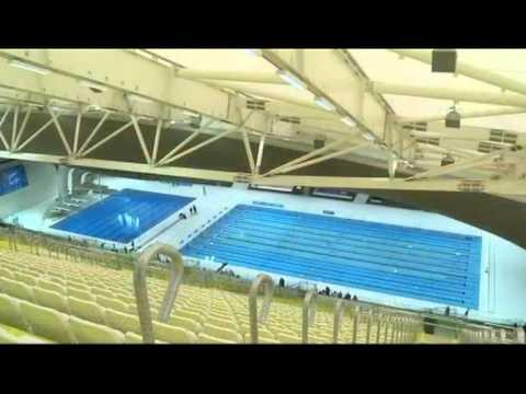 Vodní centrum pro Olympijské hry 2012 od Zaha Hadid