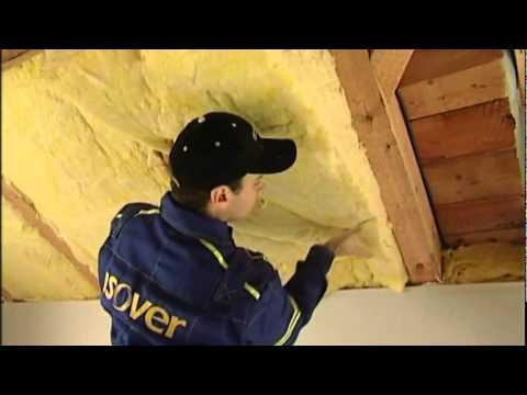 Montáž tepelné izolace ISOVER