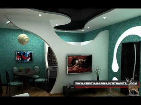 Inspirace pro sádrokartonové architektury