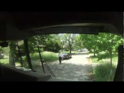 HOUSE FIRE interior HELMET CAM HIGHLAND PARK MI 5-31-12