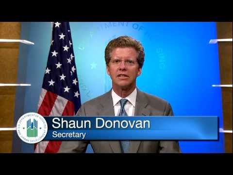 Secretary Donovan Discusses the EHLP Program (closed caption)