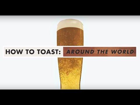 Aprenda a brindar pelo Mundo!