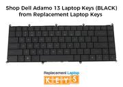 Shop Dell Adamo 13 Laptop Keys (BLACK) from Replacement Laptop Keys