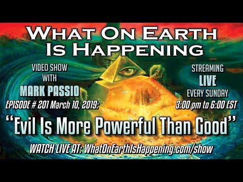 Evil is more powerful than Good on Earth, the Human Condition is Slavery [Mark Passio]