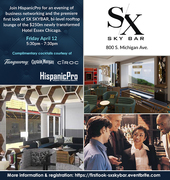 First Look Business Networking - SX Sky Bar