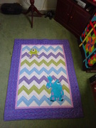 Monsters Inc. quilt