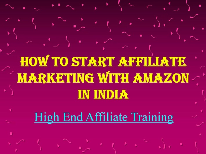 How to Start Affiliate Marketing with Amazon in