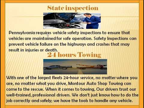 Complete Automotive And Truck Repair And Towing | Montour Auto Shop