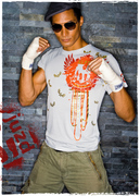 fighter stance -tech - streetwear bamboo clothing