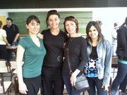Virginia, Silvana, Graciela y Andrea