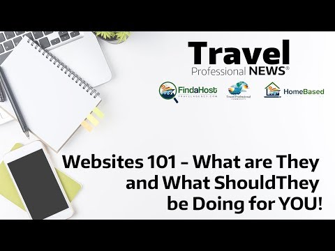 Travel Agent Websites 101   What are they and What Should they be Doing for YOU
