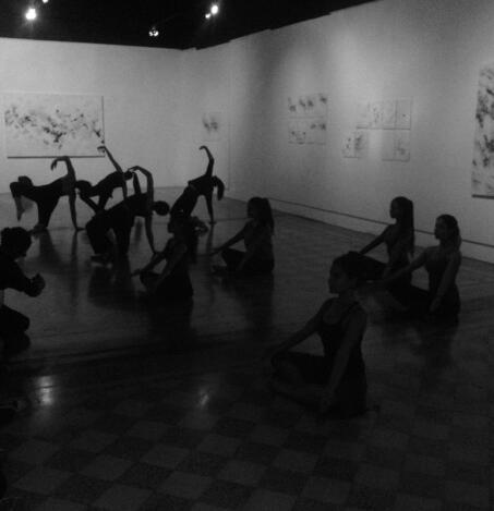 Ejercicio Danza Moderna LicDAM - 2016
