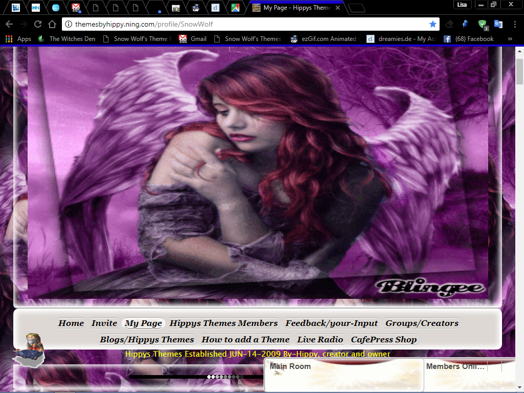 GOTHIC ANGEL 2 NING THEME BY SNOW WOLF