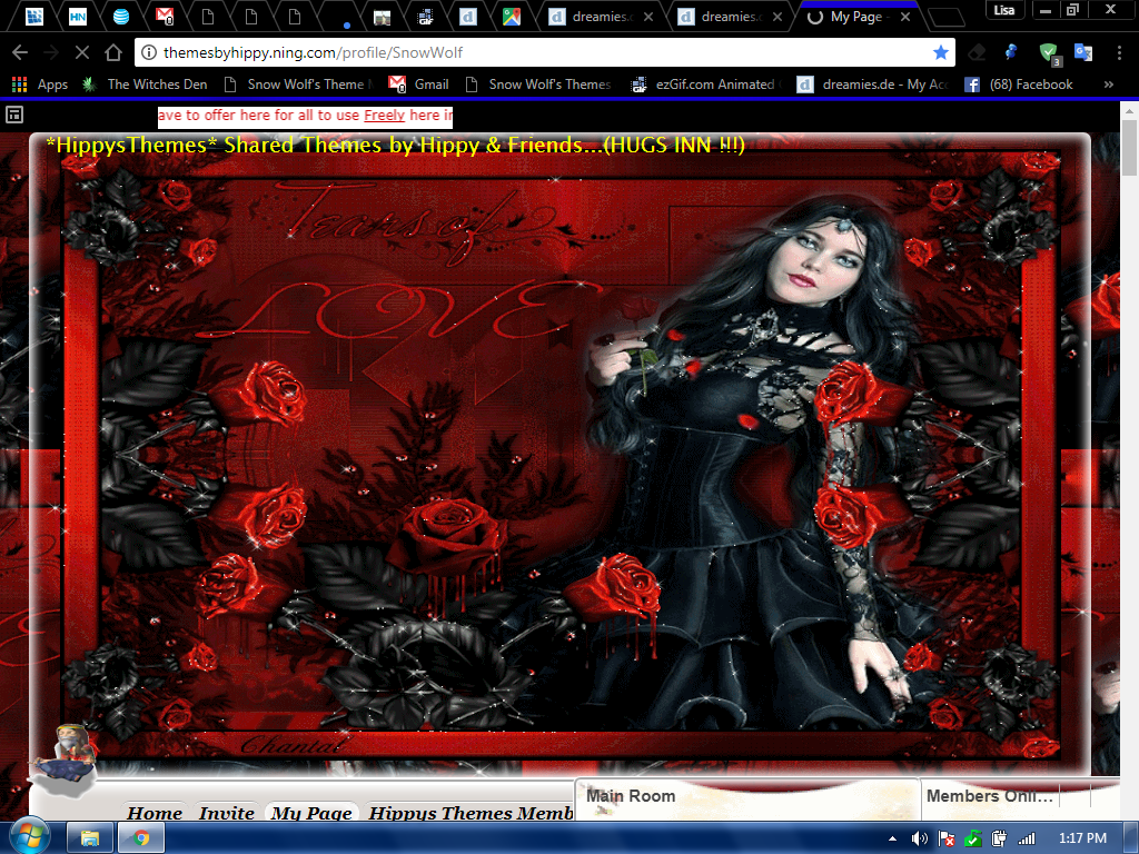GOTHIC LOVE 1 NING THEME BY SNOW WOLF