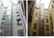 Obras realizadas: calle Conde de Romanones,8.