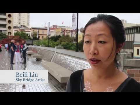 Sky Bridge Art Project