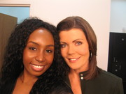 Sophia Lenore and ABC Anchor Laurie Jennings