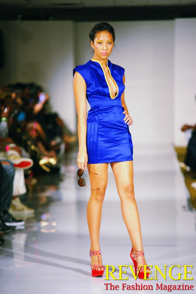 blue dress SS2013