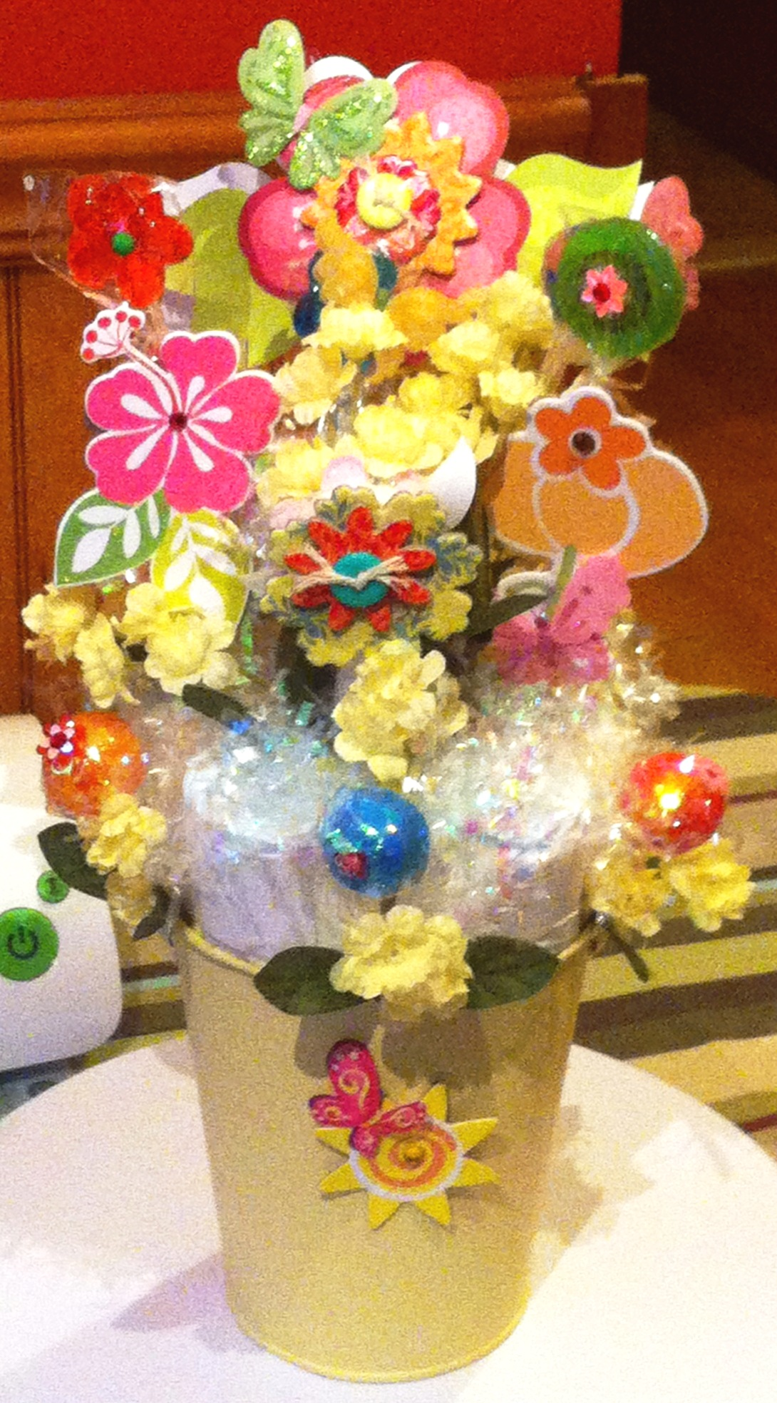 Diaper Candy Bouquet