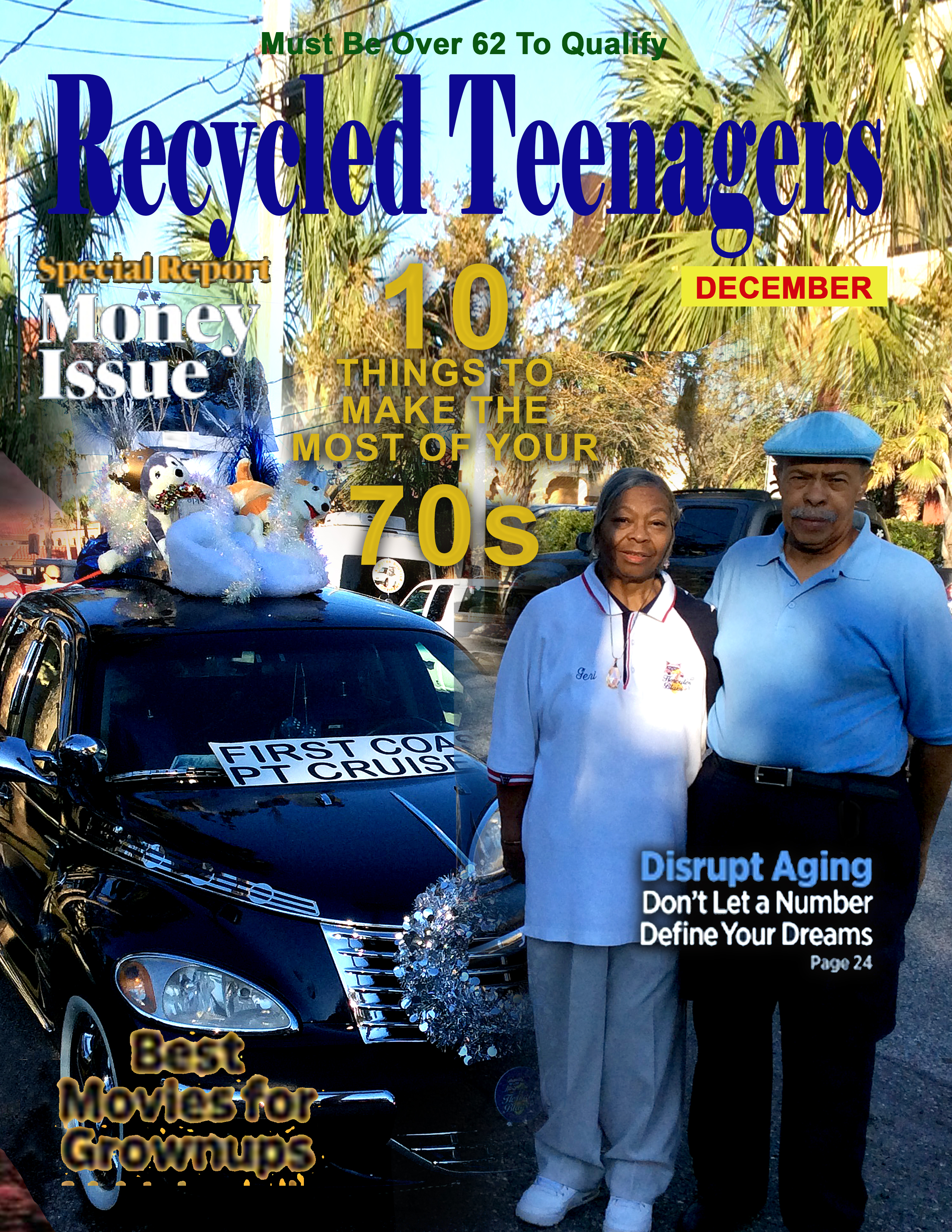 Recycled Teenagers_St_Augustine_Christmas_Parade