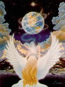 O Anjo Energizando á Terra