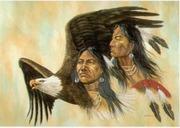 aguia dois indios