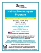 Habitat for Humanity Homebuyer Information Session