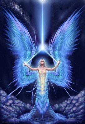 anjo azul