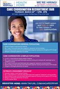 Care Coordination (Community Health) Recruitment Event