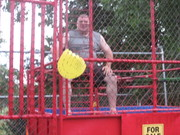 Me getting dunked!