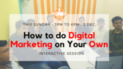 How to do Digital Marketing on your OWN (Practical Approach)