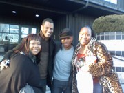Apostle Farmer & members w/ Kirk Franklin @ Sunday's Best Auditions in DC 2/1/09
