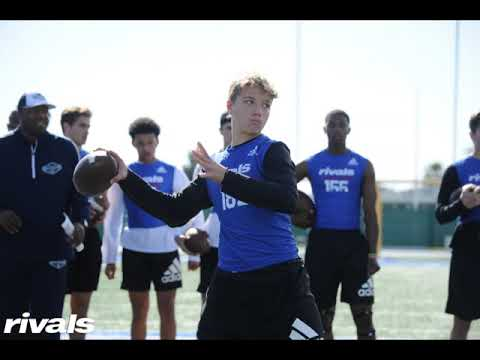 Rivals 3 Stripe Camp Top Quarterbacks:  2022 QB's Spotlight Ridge Docekal