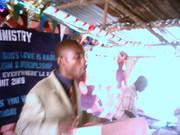 Pastor In Charge-Ernest S Kargbo-- Praying  On Chrismas Service