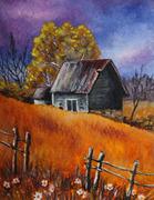 rustic shack
