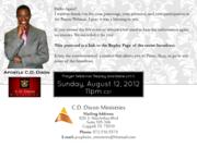 CDDM Prayer Webinar - Replay Invite