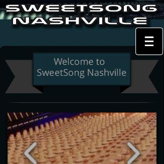 SweetSong Nashville Recording
