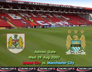 Bristol City 1:2 Man City