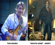 """BLUE HEAT BAR w/Tad Miura and """"South Side"""" Jerry"""