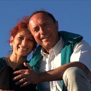 Nadine Sarah et Franck Aubert