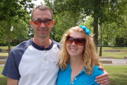 My hubby and Chelsea